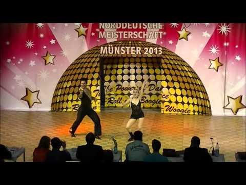 Melanie Franke & Tobias Bludau - Norddeutsche Meisterschaft 2013