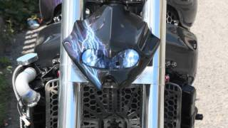 Kawasaki Streetfighter zx9r Build