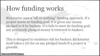 getlinkyoutube.com-Kickstarter Tutorial/Presentation