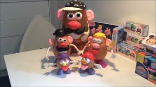 getlinkyoutube.com-The Potato Head Family: Mr. Potato Head, Pixar, Toy Story, Fun
