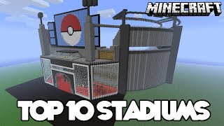 getlinkyoutube.com-Top 10 INSANE Minecraft Stadiums of ALL TIME