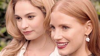 getlinkyoutube.com-Vogue Sexy Ralph Lauren Summer Party Lily James Jessica Chastain Hot Wimbledon 2015 CARJAM TV