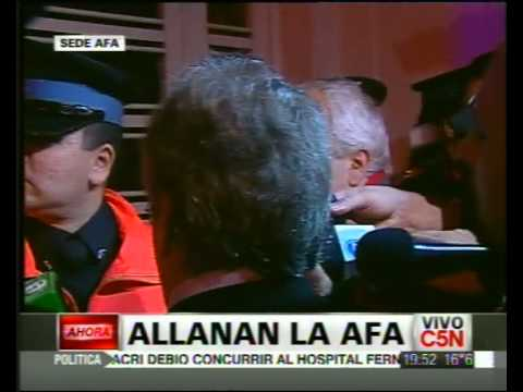 C5N - DEPORTES: NO DEJAN INGRESAR A AFA A DANIEL VILA CON ORDEN JUDICIAL