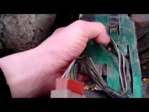 Ремонт контактов задних фонарей ваз 2108