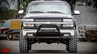 getlinkyoutube.com-Installing 1999-2006 GM 1500 6-inch Suspension Lift Kit by Rough Country