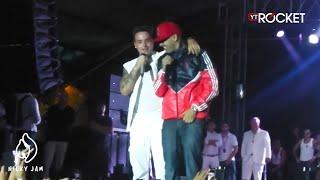 getlinkyoutube.com-Nicky Jam y J Balvin en Tarima | Feria de Las Flores 2013