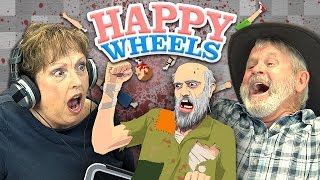 getlinkyoutube.com-HAPPY WHEELS (Elders React: Gaming)