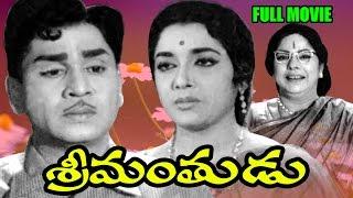 getlinkyoutube.com-Srimanthudu Full Length Telugu Movie || Akkineni Nageswara Rao, Jamuna || Ganesh Videos - DVD Rip..