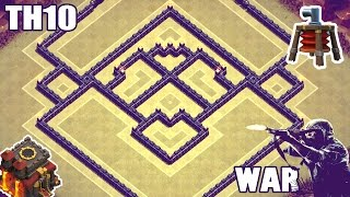 getlinkyoutube.com-Town Hall 10 (TH10) Unbeatable War/Trophy Base [Air Sweeper] | Clash of Clans