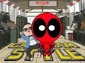 Deadpool vs Gangnam Style - A PSY Parody