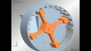 getlinkyoutube.com-Discrete element modeling of particle breakage inside a hammer mill
