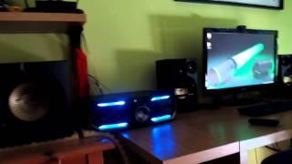 getlinkyoutube.com-Philips Fx55/12 - Sound test - Contact