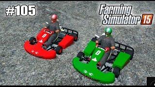 getlinkyoutube.com-Farming Simulator 15 моды: ГОНКИ НА КАРТАХ (Go Kart) (105 серия)