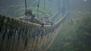 getlinkyoutube.com-沖縄・北部訓練場 ジャングル戦闘訓練センター - Jungle Warfare Training Center