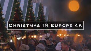 getlinkyoutube.com-Christmas in Europe 4k