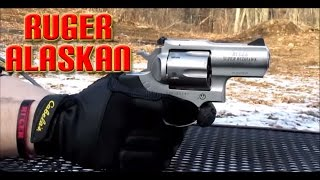 getlinkyoutube.com-Shooting the Ruger Super Redhawk Alaskan 44 magnum!