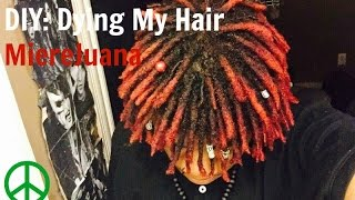 getlinkyoutube.com-DIY: Dying My Hair Dreadlocks *Mixing Colors* | MiereJuana™