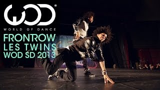 getlinkyoutube.com-Les Twins | World of Dance | FRONTROW | #WODSD 2013