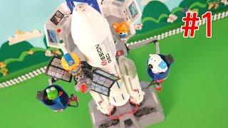 getlinkyoutube.com-뽀로로와 인공위성 그리고 과학자 에디 PlayMobil★뽀로로 장난감 애니 캐릭온 TV