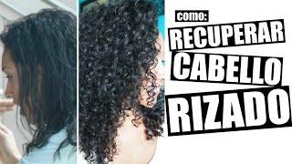 getlinkyoutube.com-Como Recuperar Cabello Rizado