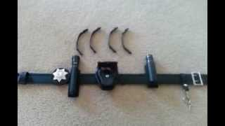 getlinkyoutube.com-Bianchi Sam Browne Duty Belt Review