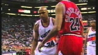 getlinkyoutube.com-Phoenix Suns VS Chicago Bulls - Nba Finals 1993 G6 - 1/8 (ITA)
