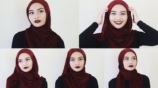 5 Everyday Hijab Styles (for the lazy girl) | Bash Harry