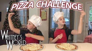 getlinkyoutube.com-Pizza Challenge | Whitney and Blakely