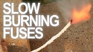 getlinkyoutube.com-How To Make Slow Burning Fuses
