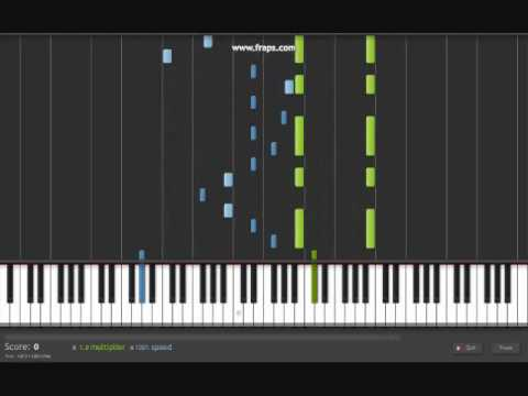 Corpse Bride : Victor's Piano Solo - Synthesia