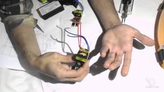 getlinkyoutube.com-Переделка китайского электронного трансформатора в блок питания