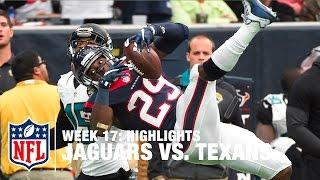 getlinkyoutube.com-Jaguars vs. Texans | Week 17 Highlights | NFL