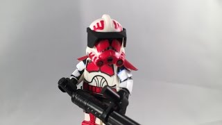 getlinkyoutube.com-Lego Star wars custom commander Thorn (2.0)