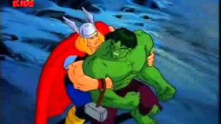 getlinkyoutube.com-Hulk vs Thor (2nd Battle)