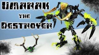 getlinkyoutube.com-LEGO Bionicle Umarak the Destroyer Set 71316 Speed Build Review