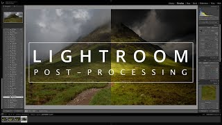 Lightroom Editing Tips | Post processing a Landscape Image to Enhance Depth and Drama
