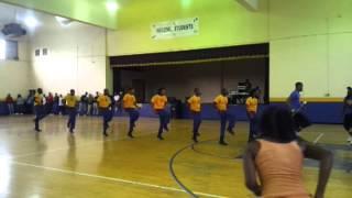 getlinkyoutube.com-Alcorn State University Drum Major Tryouts 2013