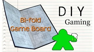 getlinkyoutube.com-DIY Gaming - How to Make a Bi-fold Gameboard