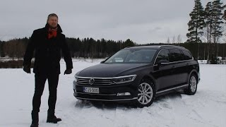 Kaaran Antti Liinpään koeajossa uusi Volkswagen Passat 2015