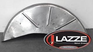 getlinkyoutube.com-Lazze Metal Shaping: Wheel Tubs Quick with English Wheel and Shrinker