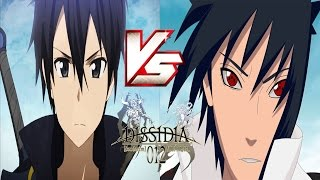 ANIME BATTLE!【SASUKE VS KIRITO!】- Dissidia 012 MODS