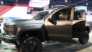getlinkyoutube.com-LINE-X Launches Truck Gear by LINE-X at SEMA 2013