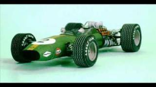 getlinkyoutube.com-1:24 Brabham BT26 Jack Brabham Monaco GP 1968 (paper model) Spinler
