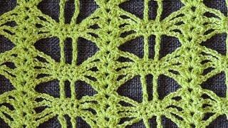 getlinkyoutube.com-Crochet: Punto Calado # 25