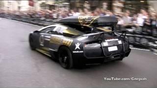 getlinkyoutube.com-The start of the 2010 Gumball 3000 Rally! - Pall Mall, London