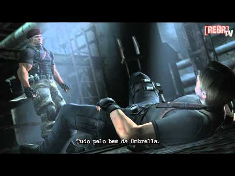 Resident Evil 4 - Luta de facas