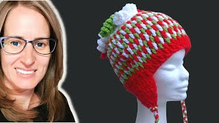 getlinkyoutube.com-Gum Drops Hat Crochet Tutorial