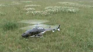 getlinkyoutube.com-TREX 500 Airwolf 1e flight