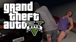 getlinkyoutube.com-GTA 5 Funny Gameplay Moments! #3 - Skyfall Glitches and Bugatti Sex! (Grand Theft Auto V Gameplay)