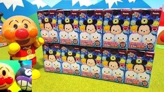 ディズニー❤ツムツム チョコエッグ 何が出るかな?サプライズエッグ Surprise Eggs Toy Kids トイキッズ animation anpanman